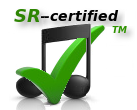 Always include -- SR-Certified - with your songs and copyright notices!