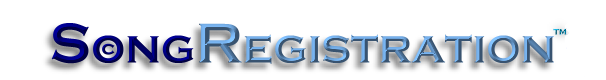 Welcome to SongRegistration.com... The Low Cost Way to Protect Your Music & Establish Your Copyright